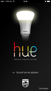 Hue installeren voor dummies: Philips Hue app